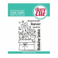 Avery Elle - Clear Photopolymer Stamps - Critter Crew