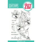 Avery Elle - Clear Acrylic Stamps - Hummingbird