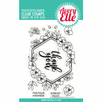 Avery Elle - Clear Photopolymer Stamps - Blooming