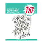 Avery Elle - Clear Acrylic Stamps - Fuchsia