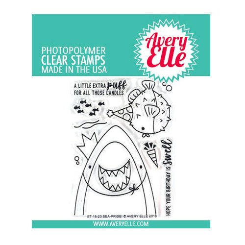 Avery Elle - Clear Photopolymer Stamps - Sea-prise