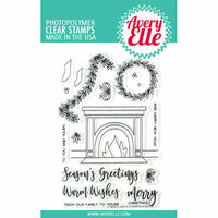 Avery Elle - Christmas - Clear Photopolymer Stamps - Fireside