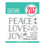 Avery Elle - Christmas - Clear Photopolymer Stamps - Sending Peace