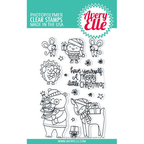 Avery Elle - Clear Photopolymer Stamps - A Merry Little Christmas