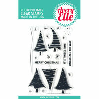 Avery Elle - Clear Photopolymer Stamps - Quirky Christmas