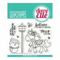 Avery Elle - Clear Photopolymer Stamps - Christmas Magic