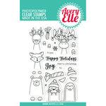 Avery Elle - Christmas - Clear Photopolymer Stamps - Polar Bear Peek-A-Boo Pals
