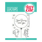 Avery Elle - Clear Photopolymer Stamps - Some Bunny