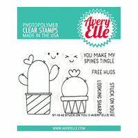 Avery Elle - Clear Photopolymer Stamps - Stuck On You