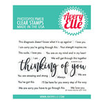 Avery Elle - Clear Photopolymer Stamps - You've Got This