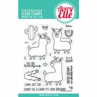 Avery Elle - Clear Photopolymer Stamps - Llamazing