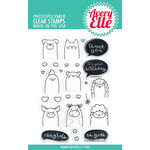 Avery Elle - Clear Photopolymer Stamps - Peek-A-Boo Pets