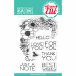 Avery Elle - Clear Photopolymer Stamps - Floral Notes