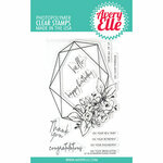 Avery Elle - Clear Photopolymer Stamps - Modern Floral Frame