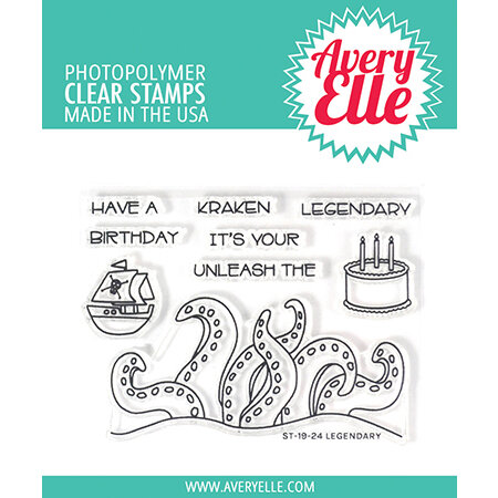 Avery Elle - Clear Photopolymer Stamps - Legendary