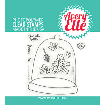 Avery Elle - Clear Photopolymer Stamps - Cloche