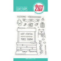 Avery Elle - Christmas - Clear Photopolymer Stamps - Cocoa Stand