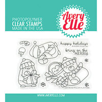 Avery Elle - Christmas - Clear Photopolymer Stamps - Polar Playtime