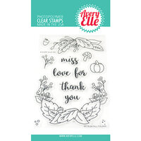 Avery Elle - Clear Photopolymer Stamps - Fall Foliage