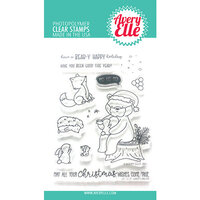 Avery Elle - Christmas - Clear Photopolymer Stamps - Santa Bear