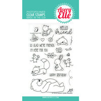 Avery Elle - Clear Photopolymer Stamps - Beary Good Friends