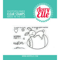 Avery Elle - Clear Photopolymer Stamps - Hoppy Easter