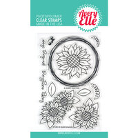 Avery Elle - Clear Photopolymer Stamps - Sunflowers