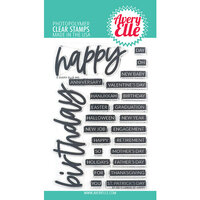 Avery Elle - Clear Photopolymer Stamps - Loads Of Happy