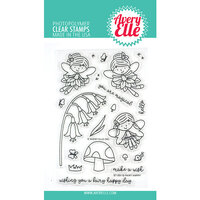 Avery Elle - Clear Photopolymer Stamps - Fairy Happy