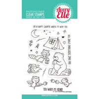 Avery Elle - Clear Photopolymer Stamps - Camping Critters