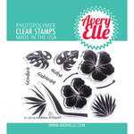 Avery Elle - Clear Photopolymer Stamps - Tropical Bouquet