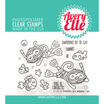 Avery Elle - Clear Photopolymer Stamps - Monkey Sea Monkey Do