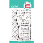 Avery Elle - Clear Photopolymer Stamps - Peek-A-Boo Coaster
