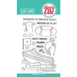 Avery Elle - Clear Photopolymer Stamps - Peek-A-Boo Boat