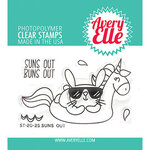 Avery Elle - Clear Photopolymer Stamps - Suns Out