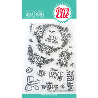 Avery Elle - Christmas - Clear Photopolymer Stamps - Rustic Wreath