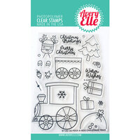 Avery Elle - Clear Photopolymer Stamps - Peek-a-Boo Christmas Train