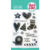 Avery Elle - Clear Photopolymer Stamps - Christmas Cookies