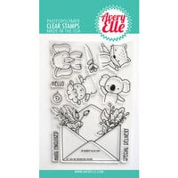 Avery Elle - Clear Photopolymer Stamps - Sending Hugs