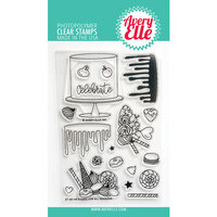 Avery Elle - Clear Photopolymer Stamps - A Cake For All Seasons