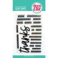 Avery Elle - Clear Photopolymer Stamps - Loads of Thanks