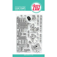 Avery Elle - Clear Photopolymer Stamps - Superheroes