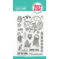 Avery Elle - Clear Photopolymer Stamps - Underwater Friends