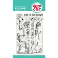 Avery Elle - Clear Photopolymer Stamps - Underwater Background Builder