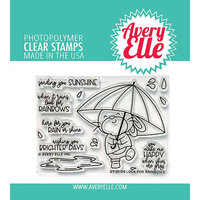 Avery Elle - Clear Photopolymer Stamps - Look For Rainbows