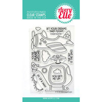 Avery Elle - Clear Photopolymer Stamps - Peek-A-Boo Flight