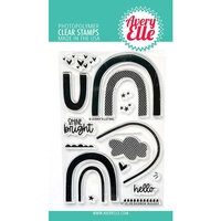 Avery Elle - Clear Photopolymer Stamps - Rainbow Builder