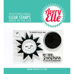 Avery Elle - Clear Photopolymer Stamps - Sunshine