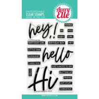 Avery Elle - Clear Photopolymer Stamps - Loads Of Hello