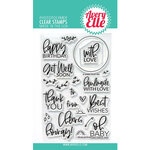 Avery Elle - Clear Photopolymer Stamps - Everyday Circle Tags